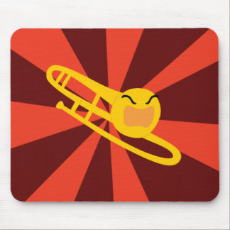 Raging Trombone Mouse Pad