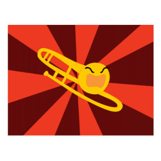 Raging Trombone Postcard