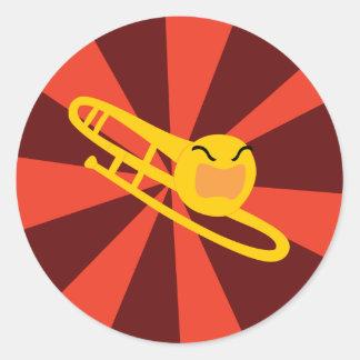 Raging Trombone Stickers