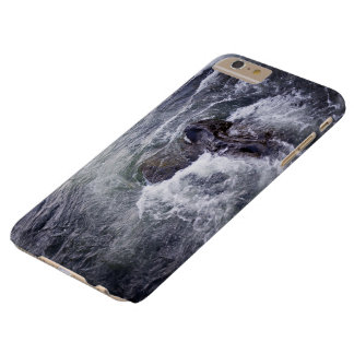 Raging waters swirl around rocks barely there iPhone 6 plus case