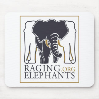 RagingElephants.Org Mouse Pad