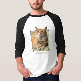 Raglán básico de la manga del problema del ratón camisas