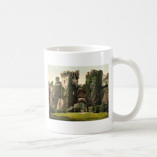 Raglan Castle, I., England rare Photochrom Classic White Coffee Mug