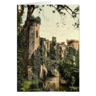 Raglan Castle, III., England rare Photochrom Greeting Card