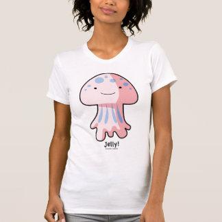 Raglán de la manga casquillo del AA de las señoras Camisetas