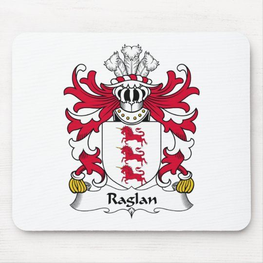 Raglan Family Crest Mouse Pad