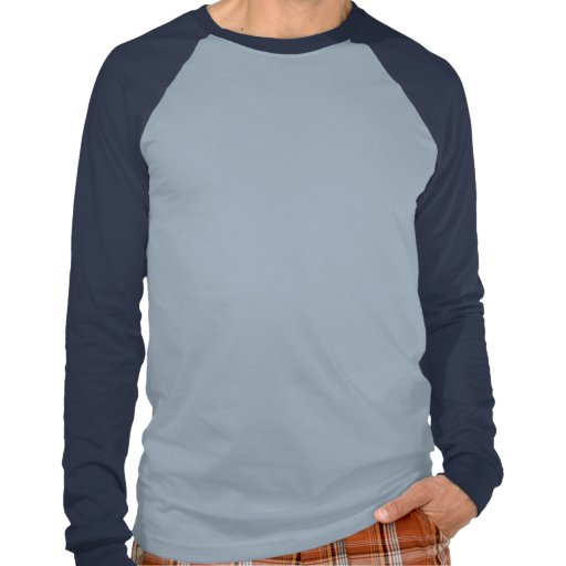 Raglán inglés de la pinta de manga larga camiseta