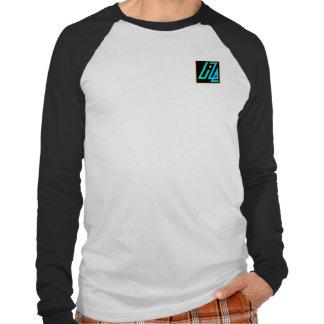 Raglán negro y blanco de UIZE (posición del Camiseta