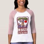 raglán que cultiva un huerto urbano camisetas