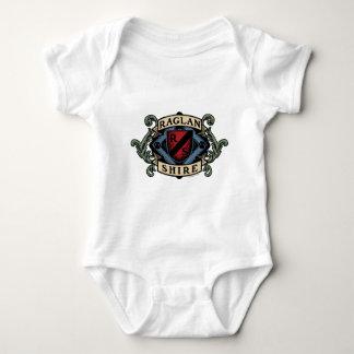 Raglan Shire Crest (Light Shirt) Baby Bodysuit