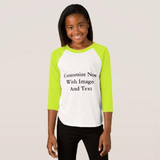 Raglan Shirts - 3/4 Sleeve Girl