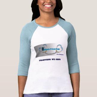 Raglan Sleeve blue/white with IPT Logo Shirts