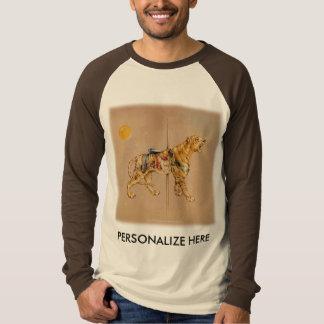 Raglan Sleeve Tees - Carousel Tiger
