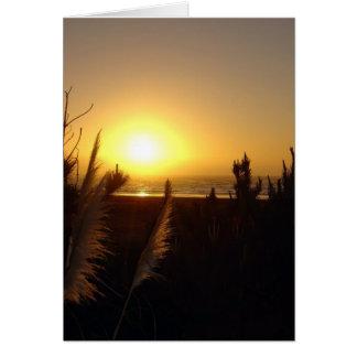 Raglan Sunset Greeting Card