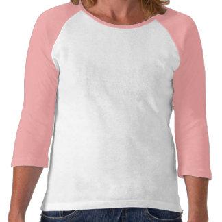 Raglán T - Pastel del diseño del aniversario del S Camisetas