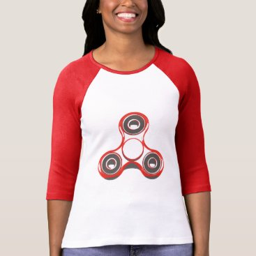Professional Business Raglan with handles 3/4 of Bleated Canvas, Spinner T-Shirt