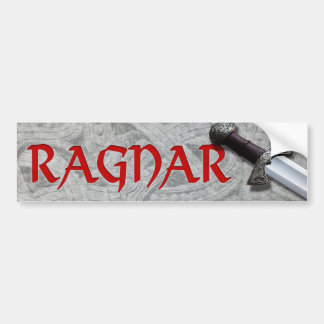 Ragnar Bumper Sticker