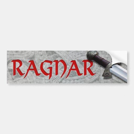 Ragnar Etiqueta De Parachoque