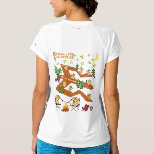 Ragnar Trail Atlanta 3 T Shirt Zazzle