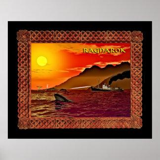 Ragnarok para las ballenas poster