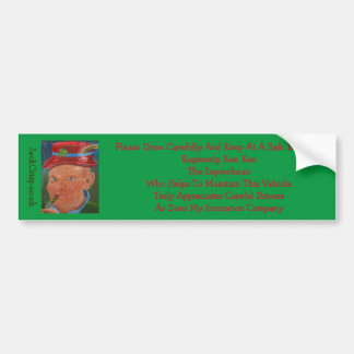 Ragrexnip Kee Kee The Leprechaun Bumper Sticker