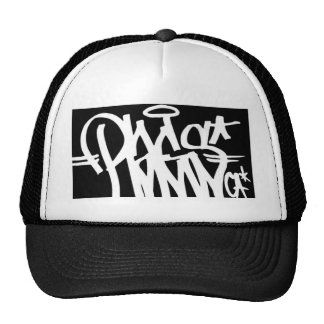 rags tag trucker hat
