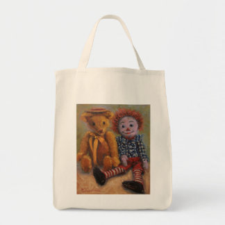 Rags to Riches Grocery Tote Bag