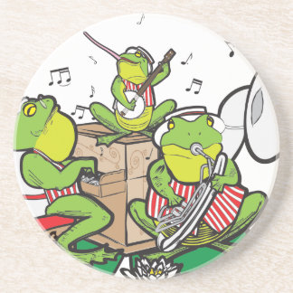 RAGTIME FROGS DRINK COASTERS