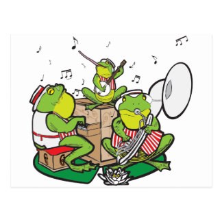 RAGTIME FROGS POST CARDS