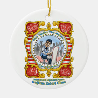 Ragtime Robert Round MainStreet Ornament