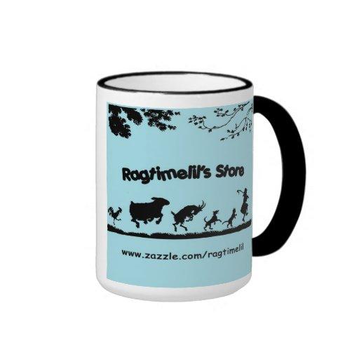 Ragtimelil's Dancing Animals Mug