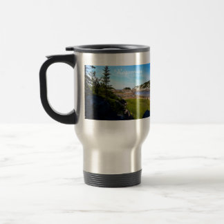 Ragueneau Wharf Site Scenic View Photo Monogram Travel Mug
