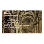 Ragusa, the Rettori Palace portico, Dalmatia, Aust Business Card