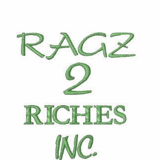 RAGZ, 2, RICHES, INC. CHAQUETA BORDADA