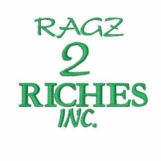 RAGZ, 2, RICHES, INC. CHAQUETAS BORDADAS