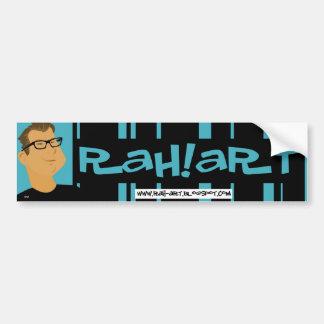 RAH!ART Bumper Sticker