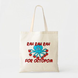 Rah Rah Rah For Octopom Budget Tote Bag