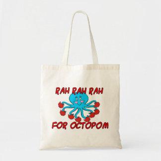 Rah Rah Rah para Octopom Bolsa Tela Barata