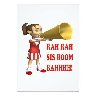 Rah Rah Sis Boom Bah Card