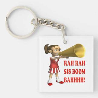 Rah Rah Sis Boom Bah Keychains