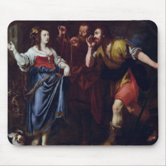Rahab and the Emissaries of Joshua Mouse Pad