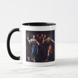 Rahab and the Emissaries of Joshua Mug
