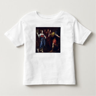 Rahab and the Emissaries of Joshua Toddler T-shirt