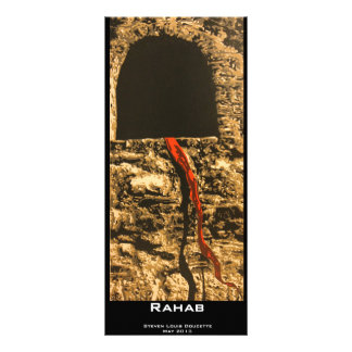 """Rahab"" Value Bookmark Rack Card"