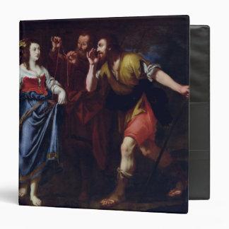 """Rahab y los emisarios de Joshua Carpeta 1 1/2"""""""