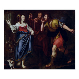 Rahab y los emisarios de Joshua Impresiones