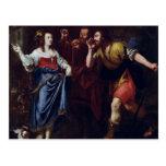 Rahab y los emisarios de Joshua Postal