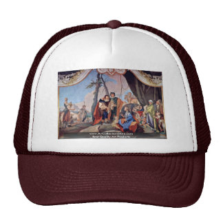 Rahel Hides The Idols By Tiepolo Giovanni Battista Trucker Hat