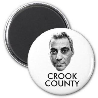Rahm Emanuel: Crook County 2 Inch Round Magnet