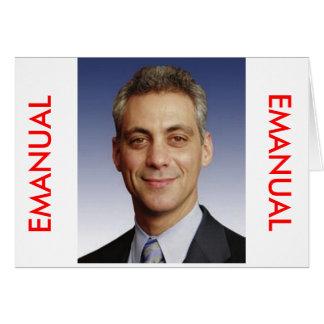 Rahm Emanuel for Mayor Card